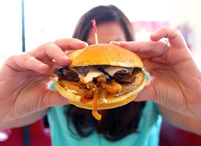 Johnny Rockets Veggie Burgers