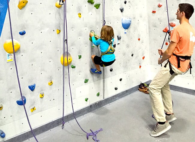 Rock Climbing Training