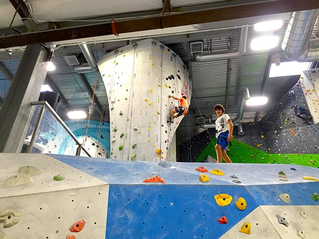 Southern California Rock Climbing Lessons