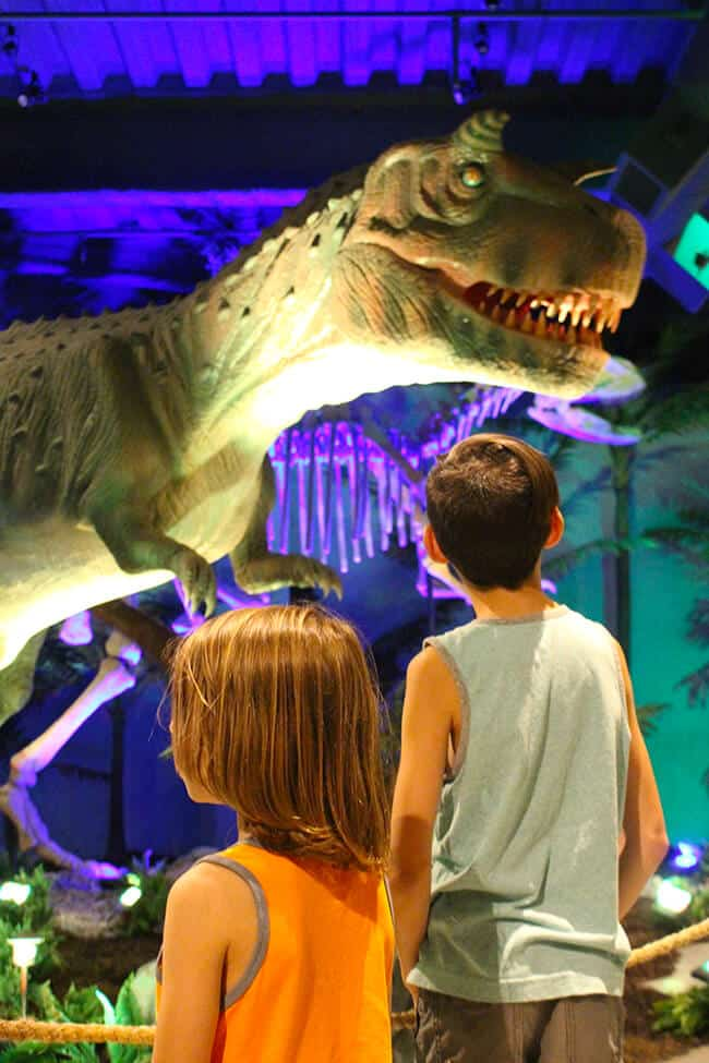 Dinosaurs at Discovery Cube OC