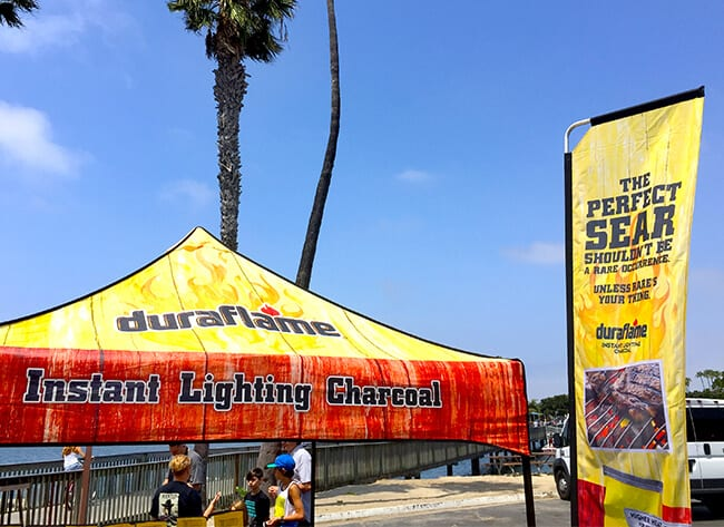 Duraflame Event in Newport Beach