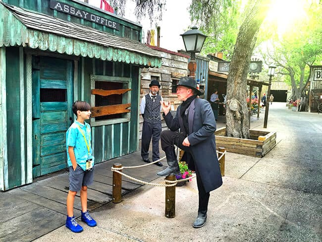 Ghost Town Alive at Knotts