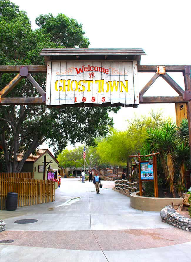 Ghost Town at Knott's