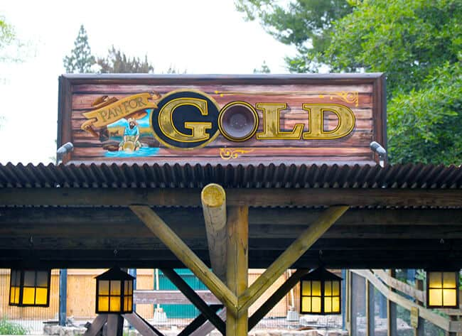 Gold at Knott's