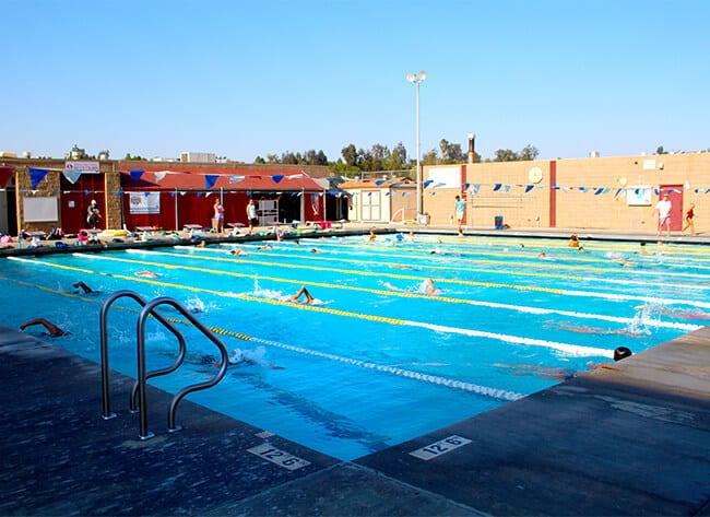 High School Swimming Pool