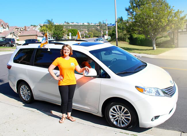 Hop Skip Drive Car Service for Kids in ORange County