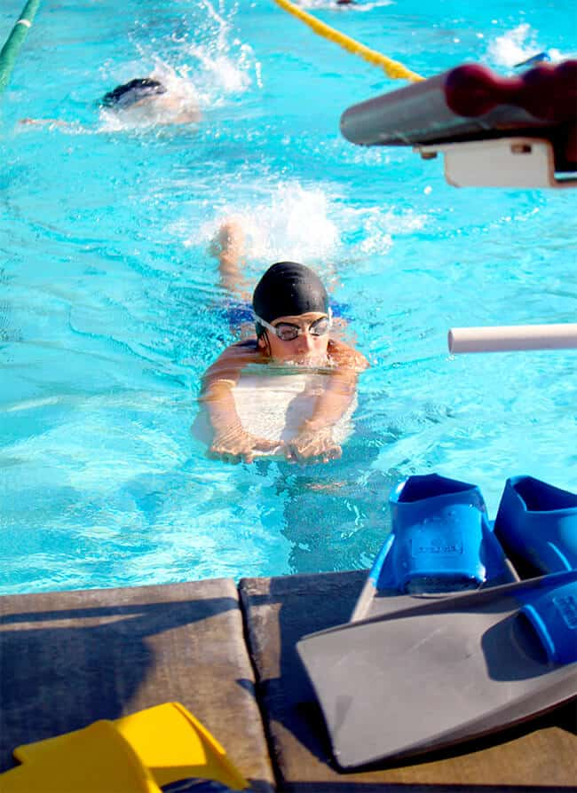 Jacks on Swim Team