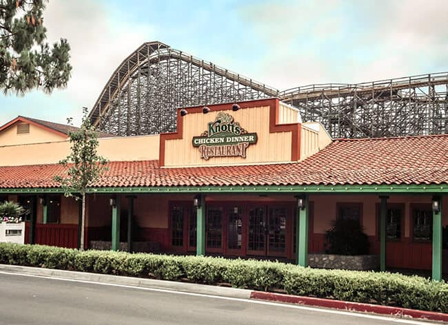 Knott's Chicken Dinner Restaurant Review