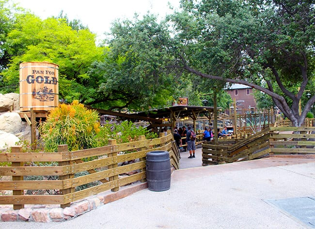New Panning For Gold Area at Knott's