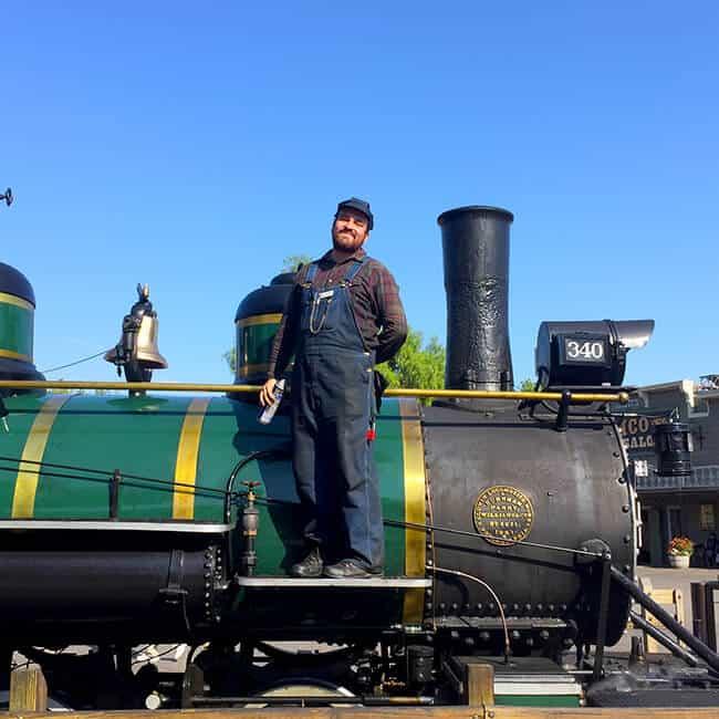 Knott's Stream Train Driver