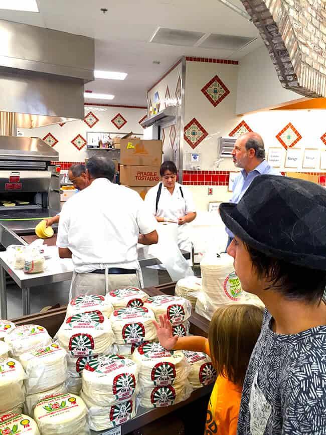 Making Fresh Tortilla at Northgate Market