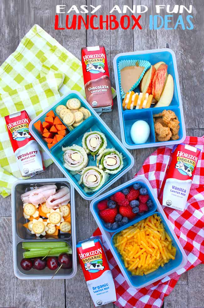 Easy and Fun Lunchbox ideas!!!!!  Great for school or snacks.