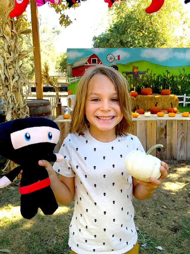 Irvine Park Railroad Pumpkin Patch Game Prizes
