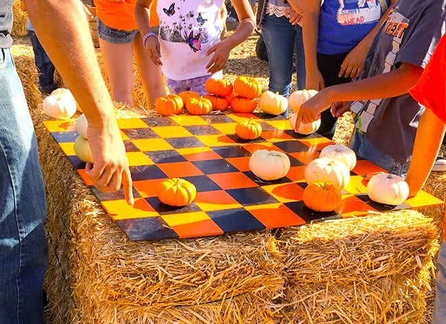 pumpkin-checkers