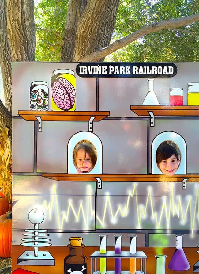 Irvine Park Railroad Pumpkin Patch Fun Photos
