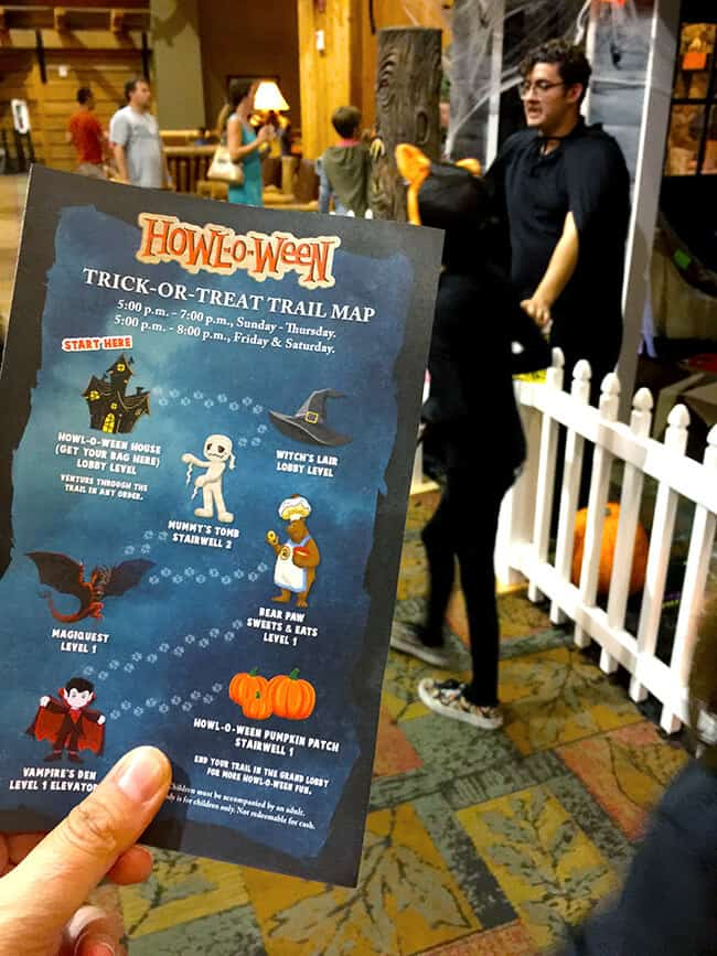 great_wolf_lodge_halloween_trick_or_treat_map