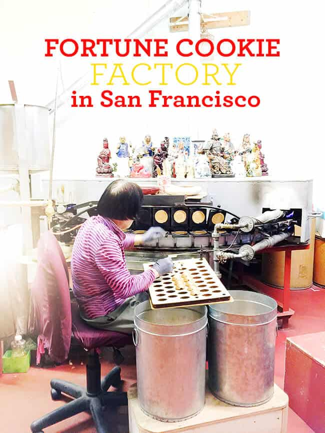 Golden Gate Fortune Cookie Factory In San Francisco