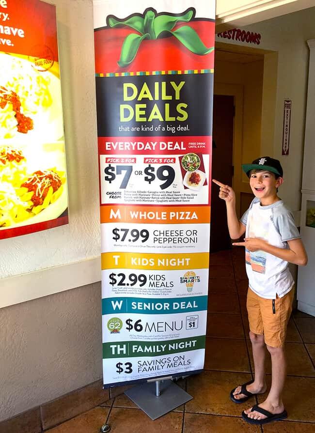 Fazoli's Italian Restaurant Deals