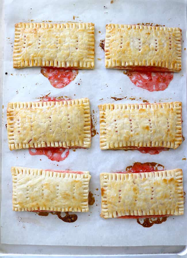 finally mix the confectioners sugar with water until the correct frosting consistency add food coloring frost the pop tarts and add sprinkles and gummy