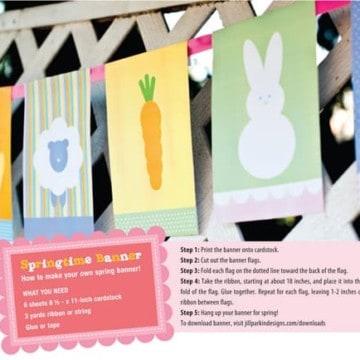 Easter Flag Printable