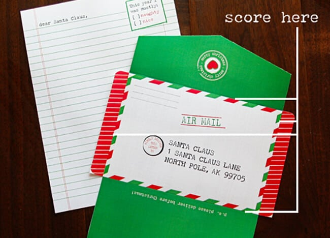 Santa Letter Printable_2_Sandy Toes and Popsicles