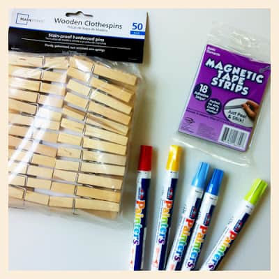 Teachers Gifts Diy Magnetic Clothespins Popsicle Blog