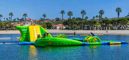 Besides The Free Movies On Beach And Summer Weekend Band Series Newport Dunes Also Offers An Awesome Water Playground Your Kids