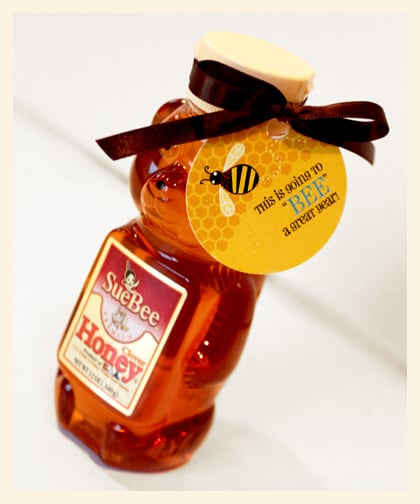 Circle Shaped Food Honey Teacher Gift - P...