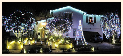 best christmas light displays in the oc  nellie gail road