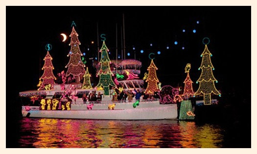 Newport Beach Christmas Boat Parade Popsicle Blog