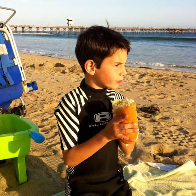 seal-beach-eating