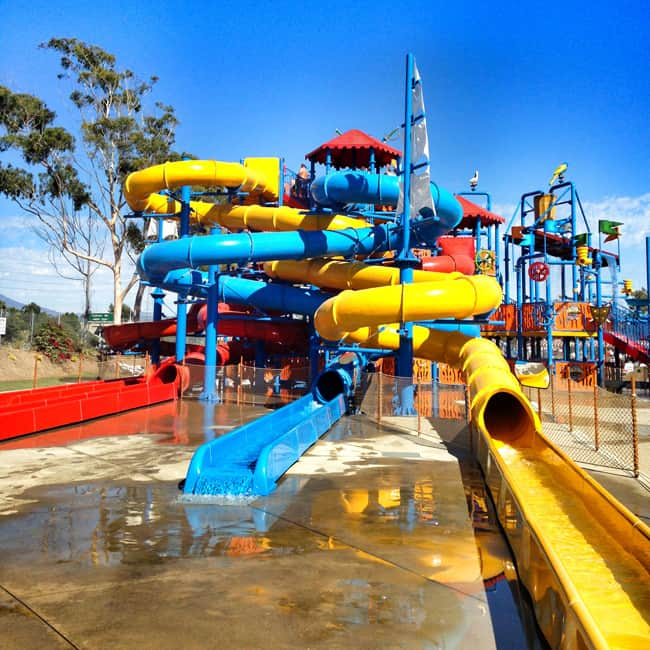 Buccaneer Cove At Boomers Irvine Water Park