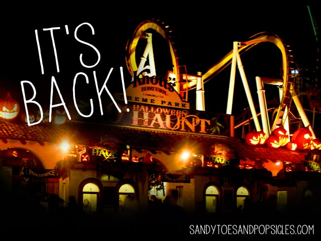 Knotts Scary Farm 2013 Giveaway