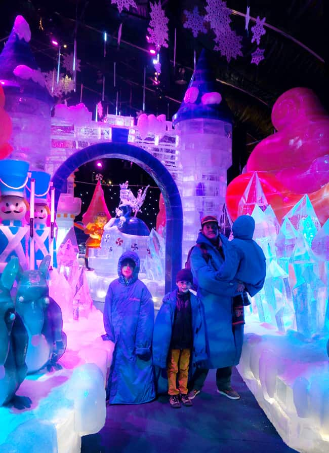 Queen-mary-chill-ice-kingdom-castle