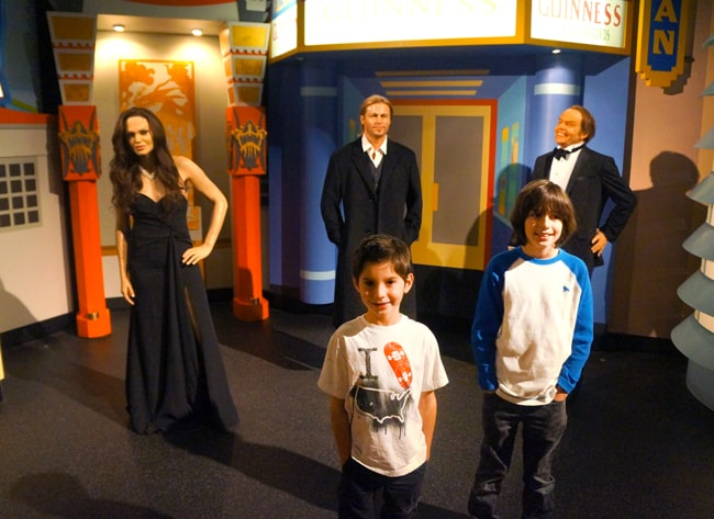 Family fun at the hollywood wax museum popsicle blog for Michaels crafts los angeles