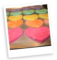 Valentine Salt Dough Ornaments