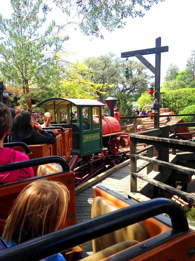 The New Big Thunder Mountain Railroad At Disneyland