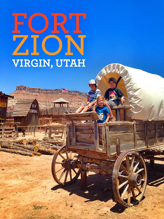 Fort Zion Trading Post in Virgin, Utah. A fun stop to make on your travel to Zion National Park. #Utah #familytravel #travel #Zion