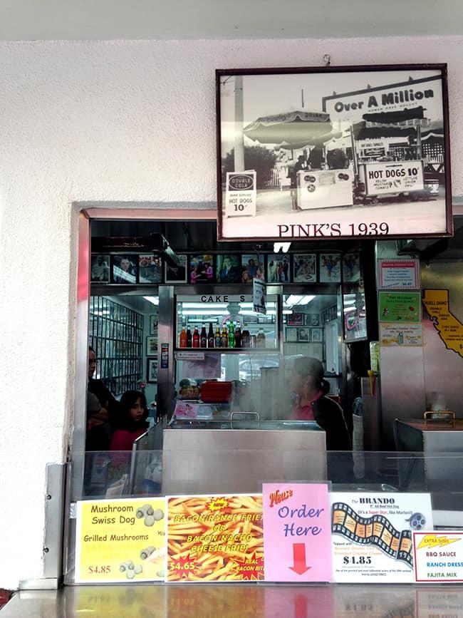 historic-pinks-hotdogs-food