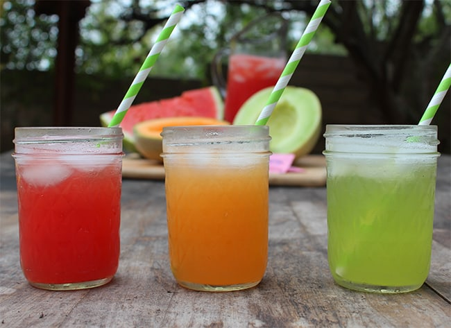 Easy Melon Spritzers | Summer Drink Recipe #cantaloupe #watermelon #honeydew #juice #recipe #mocktail #SweetNLowStars