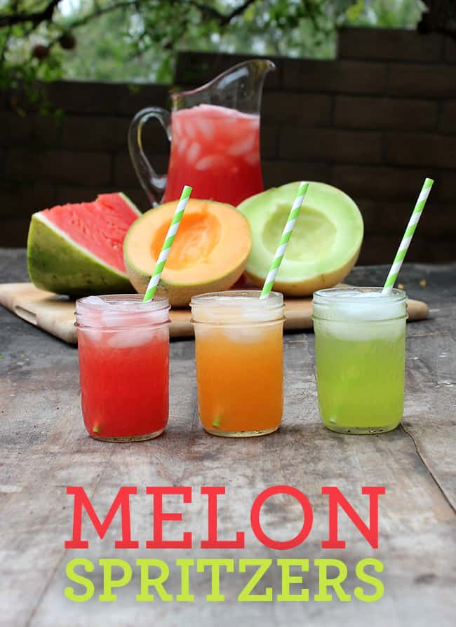 Easy Melon Spritzers | Summer Drink Recipe #mocktail #SweetNLowStars