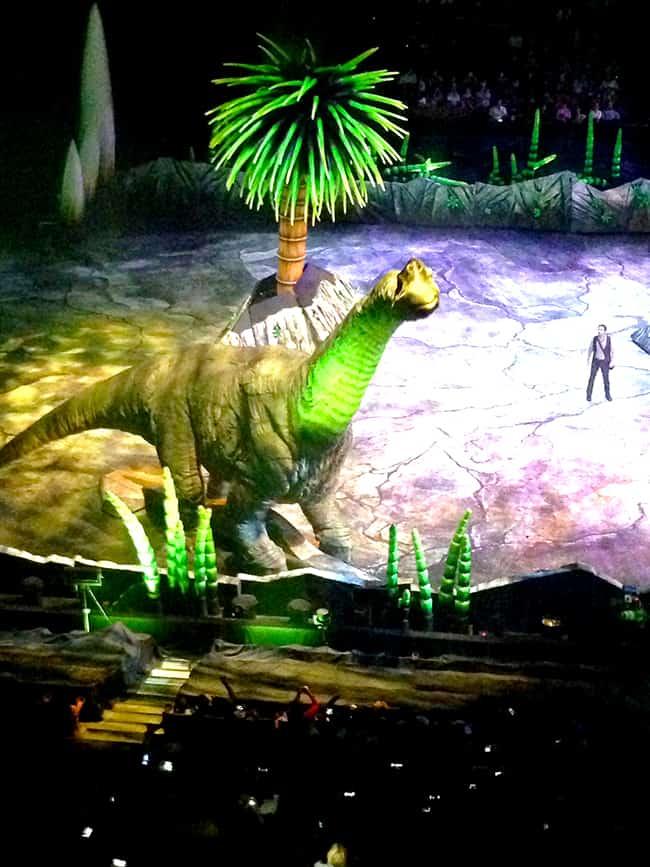 Walking With Dinosaurs at Honda Center
