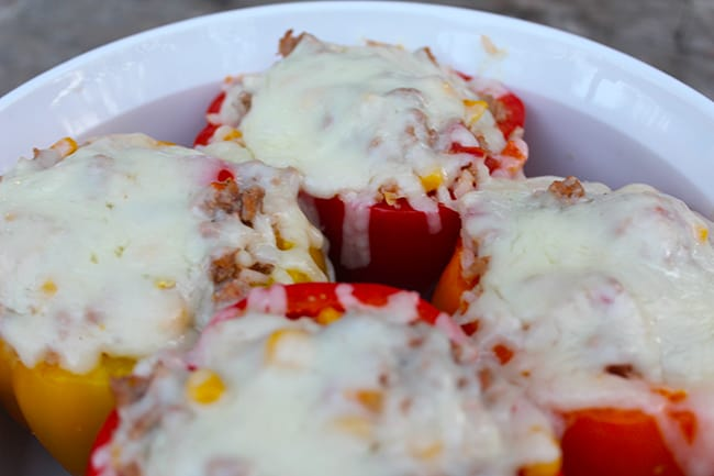 Turkey Stuffed Bell Peppers Recipe