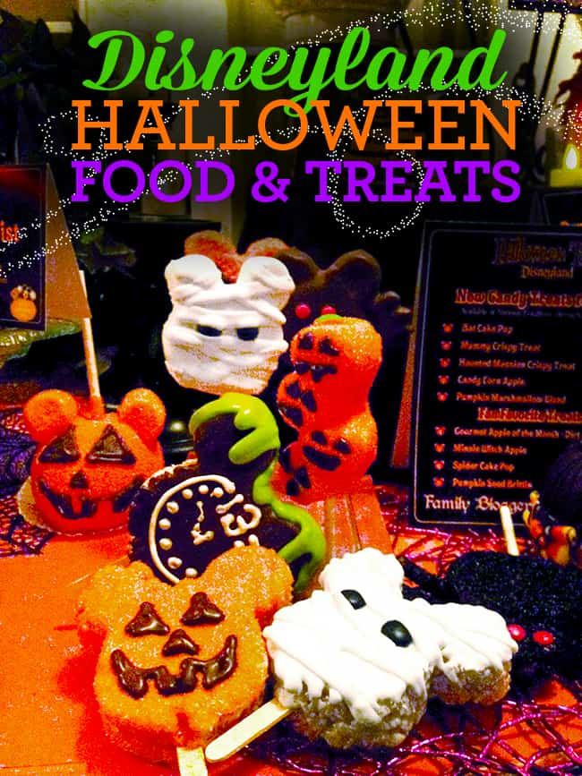 Disneyland Halloween Treats