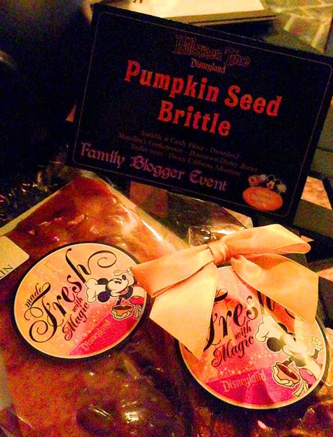 Disneyland Pumpkin Seed Brittle