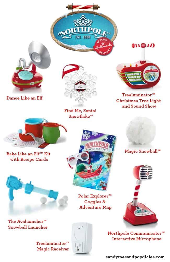 Hallmark Northpole toys