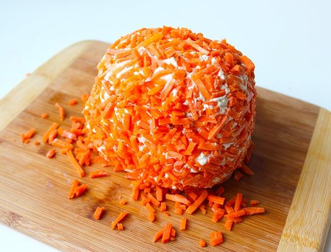 Halloween Onion Ranch Cheese Ball