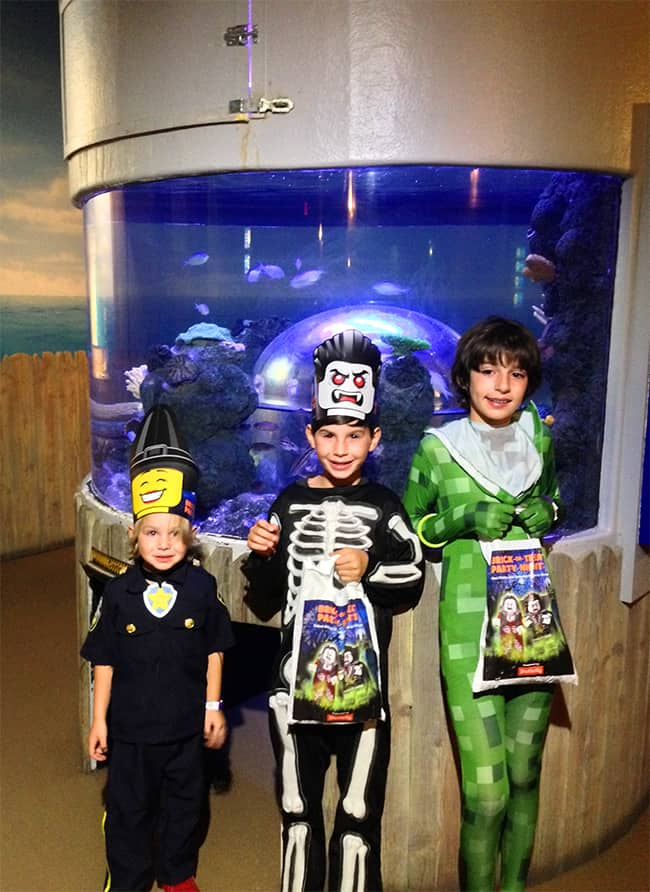 Legoland Brick-or-Treat at Sealife
