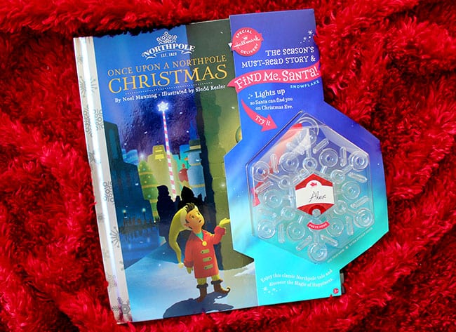 Once Upon a Northpole Christmas Book by Hallmark