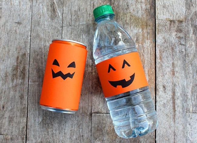 Halloween drink printable! #free #printable #spookysnacks
